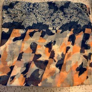 Francescas Multi Colored Scarf